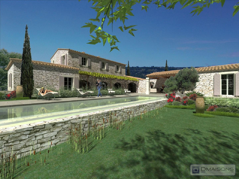 Mas bastide gordes dmaisons provence mas gordes At home architecture gordes 84